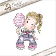 Magnolia Stamps Class Trip - Cotton Candy Tilda