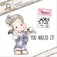 Magnolia Stamps Fixer Upper - You nailed it! Hammer Tilda & Hardware Supply Tiny Nails