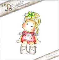 Magnolia Stamps Upgrade Le Fleur - Strawberry Tilda