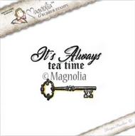 Magnolia Stamps Tilda In Wonderland - Always Tea Time