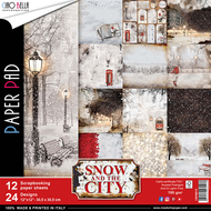Ciao Bella - Snow And The City - 12 x 12 Scrapbooking Paper pad