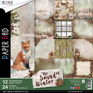 Ciao Bella - The Sound Of Winter - 12 x 12 Scrapbooking Paper pad