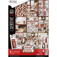 Ciao Bella - Snow And The City - A4 Creative Pad