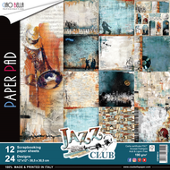 Ciao Bella - Jazz Club - 12 x 12 Scrapbooking Paper Pad