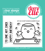 Avery Elle Clear Stamp - Hot Chick