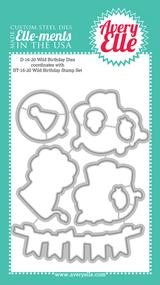 Avery Elle Elements - Wild Birthday Die (D-16-20)