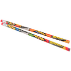 "7.5"" 2 Style Superhero Pencils 12 per pk .12 each"