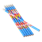 "7.5"" 2 Style Unicorn Theme Pencils 12 per pk .12 each"