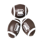 "2.5"" Mini Vinyl Footballs 12 per pk .42 each"