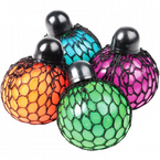 "2.5"" Color Changing Mesh Stress Ball 12 per display bx .62 each"