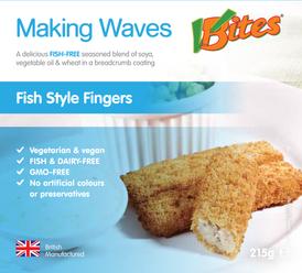 Fish-Free Fish Fingers - Vbites