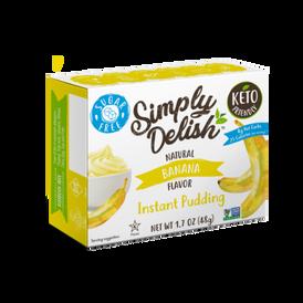 Instant pudding banana
