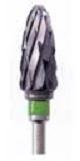 11275 Carbide Cutter, Taper Round End Coarse Cross-Cut  1 per pack