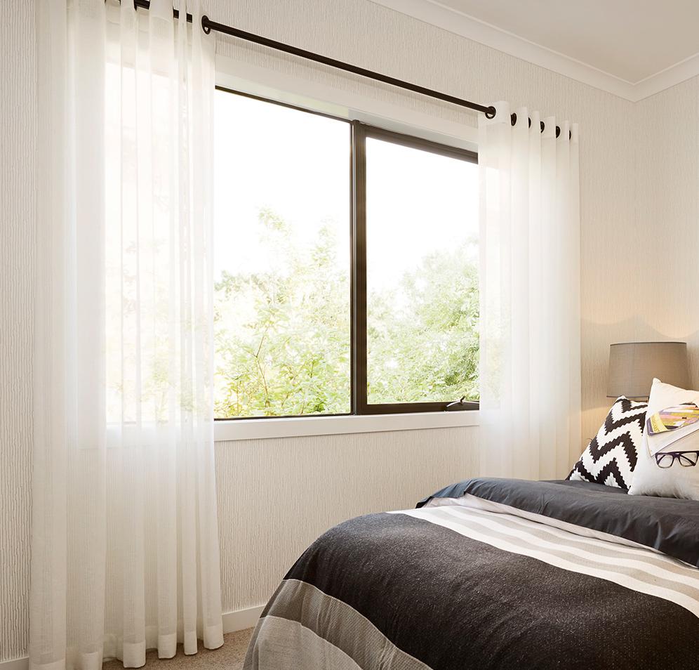 Shimmer Sheer Eyelet Voile Curtain In White ($15.95 Per Panel)