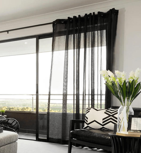 Black Curtains 6 Rooms To Get You Decorating With