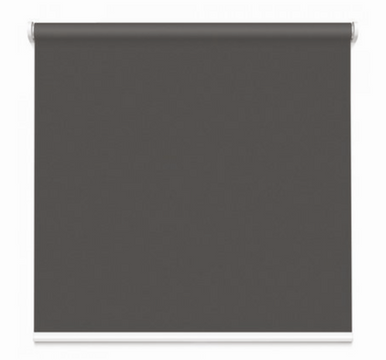 Classic Charcoal Grey blockout roller blind