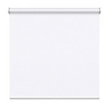 Classic White blockout roller blind