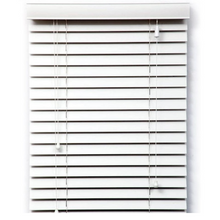 White Timber Style Venetian Blind
