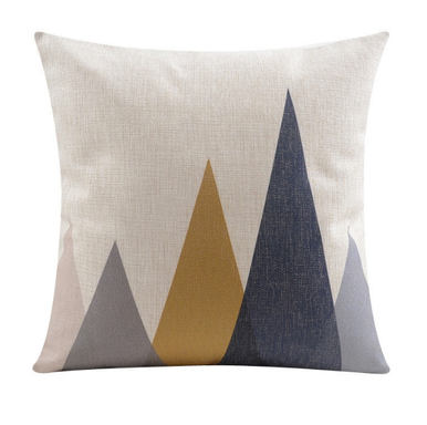 Black Grey Gold Mountain Cushion Cover | Sold Out!
