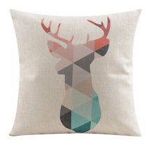 Nordic Deer Cushion Cover | Sold Out!