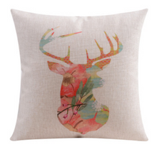 Floral Elk Cushion Cover 45cm x 45cm | Sold Out!
