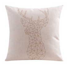 Gold coloured Elk Cushion Cover 45cm x 45cm | Sold Out!
