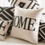 "Word ""Home"" Linen Cushion Cover"