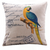 Blue and Yellow Parrot Cushion Cover