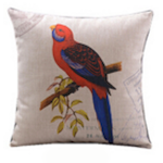 Red Rosella Cushion Cover