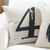 Number Four Cushion Cover