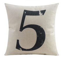 Number Five Cushion Cover