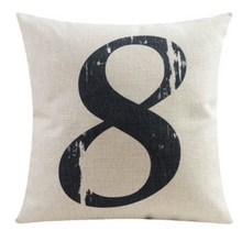 Number Eight Cushion Cover