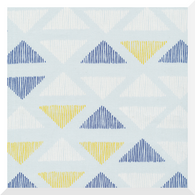 Lines & Shapes by Leah Duncan - Pen Marks Ice Flow - 100% Organic Cotton CANVAS (0.25m)