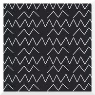 Lines & Shapes by Leah Duncan - Angles Black - 100% Organic Cotton CANVAS (0.25m)