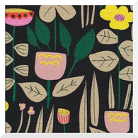 WILD by Leah Duncan | Maru | 100% Organic Cotton BARKCLOTH (0.25m)