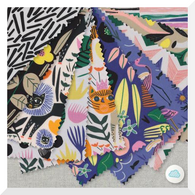 WILD by Leah Duncan - 10PCE Bundle - ORGANIC Cotton Fabric