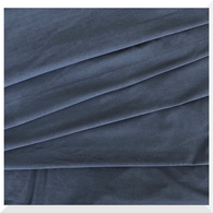 Organic Cotton KNIT Stretch Jersey CHARCOAL - 160cm WIDE - price per 0.25m