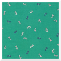 AUGUST DELIVERY  - NATURAL BEAUTY | Drayton Dragonflies | Organic Cotton Fabric (0.25m)