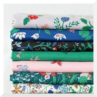 NATURAL BEAUTY by Louise Cunningham - 7PCE Bundle - ORGANIC Cotton Fabric