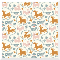 ENCHANTED KINGDOM | Whimsy Burrow | Organic Cotton Fabric (0.25m)