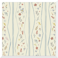 A HOUSE IN BLOOM | Lydia | Organic Cotton Fabric (0.25m)