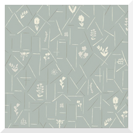 A HOUSE IN BLOOM | Belle | Organic Cotton Fabric (0.25m)
