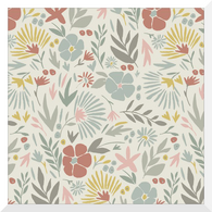 A HOUSE IN BLOOM | Angelica | Organic Cotton Fabric (0.25m)