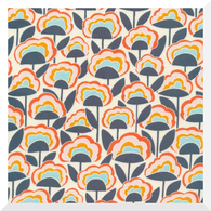 SEPT DELIVERY: GOOD VIBRATIONS   Afterglow   Organic Cotton Fabric (0.25m)