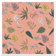 GARDEN OF EDEN | Purity | Organic Cotton Fabric (0.25m)