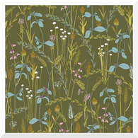 GRASSLANDS | Little Grasses | Organic Cotton Fabric (0.25m)