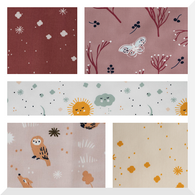 DREAMER by Jenny Ronen - 5PCE Bundle - ORGANIC Cotton Fabric - LAST ONE!