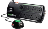 Thor Green Board 8 Outlet Filter & Surge Protector with Remote Switch