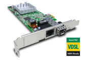 Draytek VigorNIC 132F VDSL2/ADSL2+ PCI Express NIC with Security Firewall, and SFP secondary WAN port