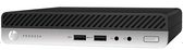 HP ProDesk 400 G5 Desktop Mini, i3-9100T, 4GB, 500GB HDD , MS Win10 Pro, 1Yr Warranty
